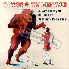 Theseus and the Minotaur - Ancient Greek Myth, Narrated by Athan Karras