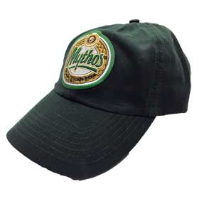 Mythos Greek Beer Adjustable Cap in Forrest Green