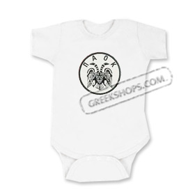 P.A.O.K. Greek Sports Team Romper for Babies