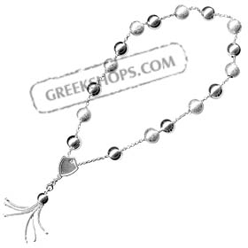 Sterling Silver Worrybeads Style 002