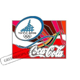 Torino 2006 Coca Cola Look of the Games Pins