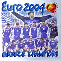Euro 2004 Greek Team Tshirt