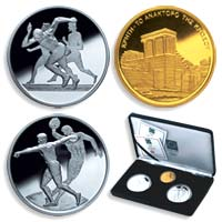 Athens 2004 Official Coins