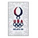 USOC Beijing USA House Pin Team Logo USC-1216