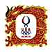 USOC Beijing USA House Pin Dragon USC-1223