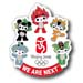 "Beijing 2008 Beijing Mascots ""We are Next"" Pin"