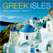 Greek Isles 2008 12 mo. Wall Calendar