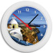 Greek Time - Greek Island Wall Clock - Santorini