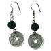 Deca Lepta Coin Earrings Style EK46