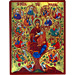 Biblical Composition - Panayia ( Virgin Mary ) Tree of Life - 19x25cm