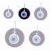 Decorative Glass Evil Eye 121112 Size B