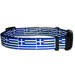 Greek Flag Dog Collar