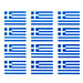 Greek Flag Sticker Sheet
