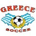 Greece Soccer Tshirt Style D2450