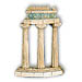 "Delphi Tholos of Athena Pronoia Temple 7"" (18 cm) (Clearance 40% Off)"