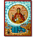 Virgin Mary patron of Pontos, Hand Painted Icon 19 x 25 cm
