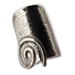 Neoclassic Collection :: Spiral Motif Adjustable Ring (24mm)