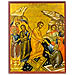 "The Resurrection of Jesus Christ (7.5x10"") Hand-made Icon"