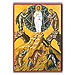 "The Resurrection of Jesus Christ (5x7"") Hand-made Icon"