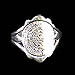 Sterling Silver Phaistos Disk Ring JP102R