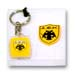 Greek Team Keychain & Pin Set - AEK