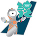 London 2012 Mascot Wenlock Welcome Pin