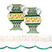 Style 885 Table Runner Greek Amforeas 40x90cm (Blue or Green)