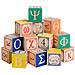 Alphabet ABC Wooden Blocks in Greek
