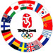 Beijing 2008 Historical Olympic Summer Games Host Country Oversized Pin